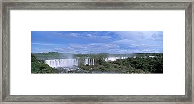 Iguazu Falls Iguazu National Park Brazil Framed Print by Panoramic Images