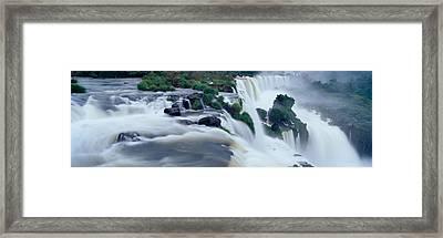 Iguazu Falls, Iguazu National Park Framed Print by Panoramic Images