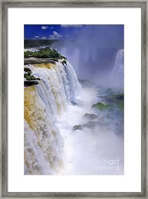 Iguazu Falls IIi Framed Print by Bernardo Galmarini