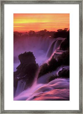 Iguazu Falls National Park Framed Print by Javier Etcheverry