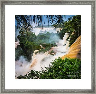 Iguazu Natural Wonder Framed Print