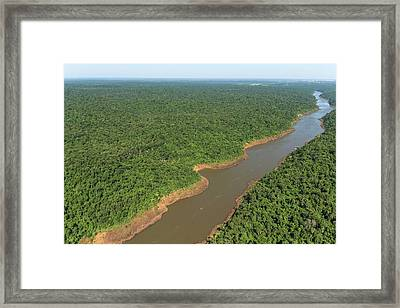 Iguazu River Framed Print