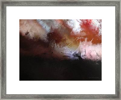 IIi - Hobbit Framed Print by John WR Emmett