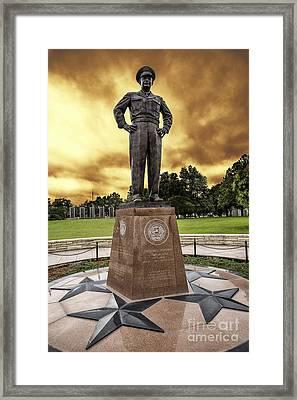 Ike Framed Print by Jon Burch Photography