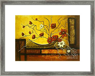 Ikebana II Framed Print