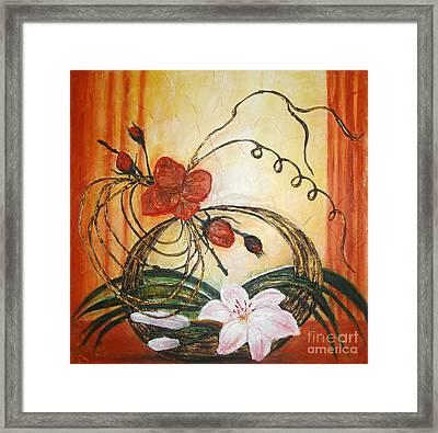 Ikebana IIi Framed Print