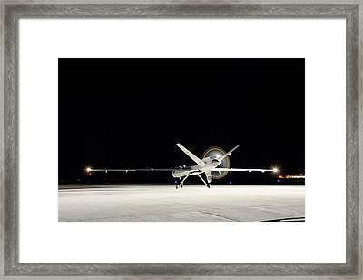 Ikhana Unmanned Aerial Vehicle Framed Print by Nasa, Tony Landis