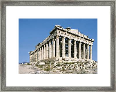 Iktinos 5th C. Bc Phidias 490 -431 Bc Framed Print by Everett