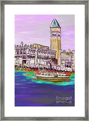 Il Campanile Di San Marco Framed Print