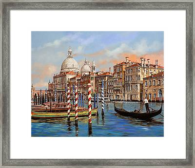 Il Canal Grande Framed Print