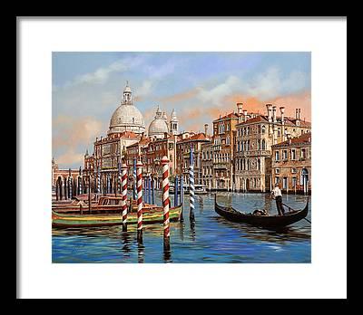 Canal Framed Prints