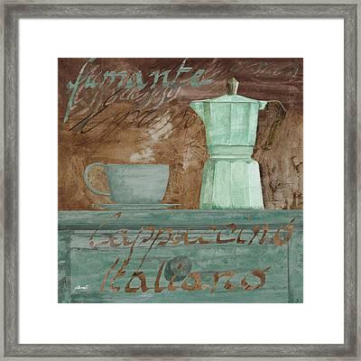 Il Cappuccino E La Moka Framed Print