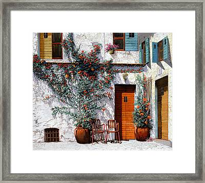 Il Cortile Bianco Framed Print