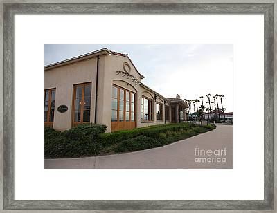 Il Fornaio Italian Restaurant In Coronado California 5d24362 Framed Print by Wingsdomain Art and Photography