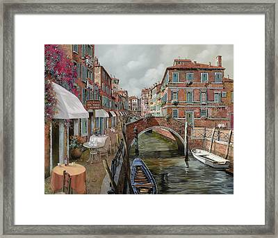 Il Fosso Ombroso Framed Print