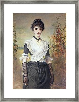 Il Penseroso  Framed Print by Sir John Everett Millais