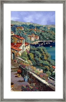Il Promontorio Framed Print