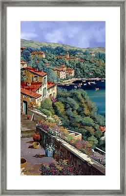 Il Promontorio Framed Print by Guido Borelli