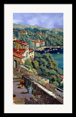 Roof Tile Framed Prints