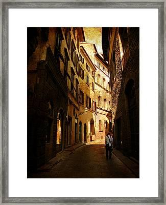 Il Turista Framed Print by Micki Findlay
