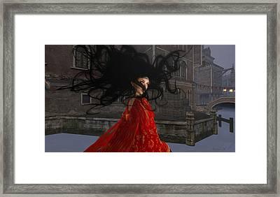Il Vampiro Contessa Di Venezia Framed Print