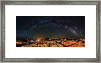 Ilene's View Framed Print