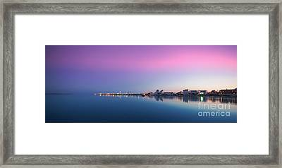 Ilha De Faro Framed Print by English Landscapes