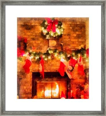 Ill Be Home For Christmas Framed Print by Dan Sproul