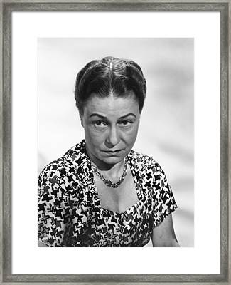 Ill Get By, Thelma Ritter, 1950, �20th Framed Print