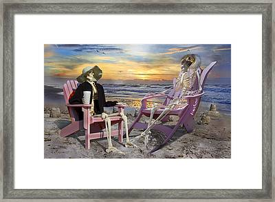 I'll Have One Of Those Drinks Framed Print by Betsy Knapp