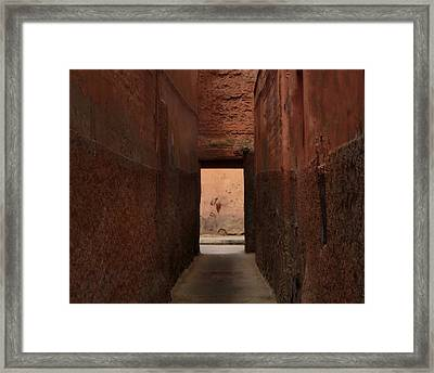 I'll Meet You Further On Up The Road.. Framed Print by A Rey