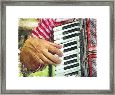 I'll Play For You Framed Print