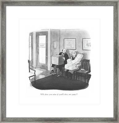 I'll Show Framed Print by Richard Decker