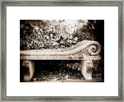 I'll Wait For You Framed Print by Colleen Kammerer
