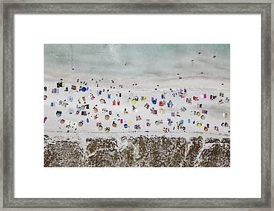 Illetes Beach, Formentera Framed Print