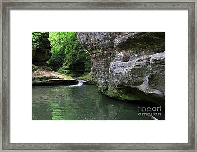 Illinois Canyon May 2014 Framed Print