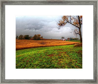 Illinois Farmland I Framed Print