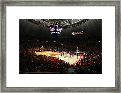 Illinois Fighting Illini Assembly Hall Framed Print by Replay Photos
