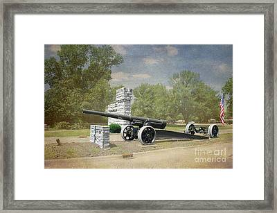 Illinois Veterans' Home Entry - Luther Fine Art Framed Print by Luther Fine Art