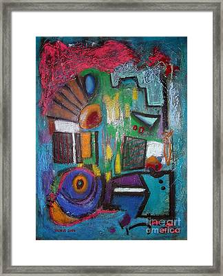Illogical Framed Print by Venus