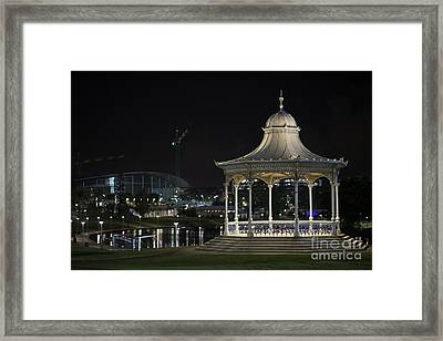 Illuminated Elegance Framed Print