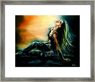 Illuminated Framed Print