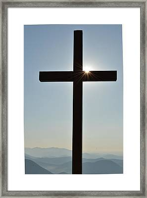 Illuminated Glory  Framed Print