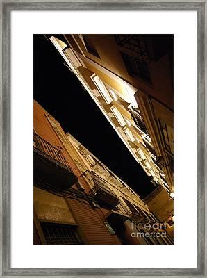 Illuminated Tops Framed Print by Susan Hernandez