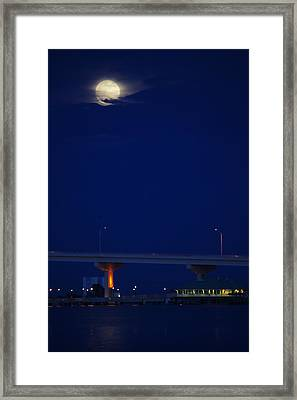 Illuminating Titusville Framed Print