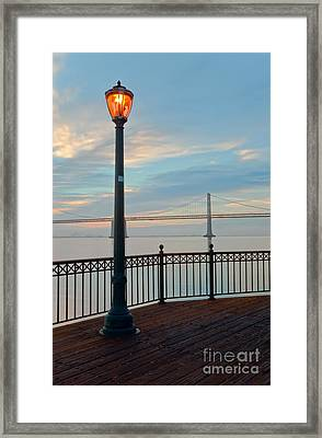 Illumination Framed Print by Jonathan Nguyen