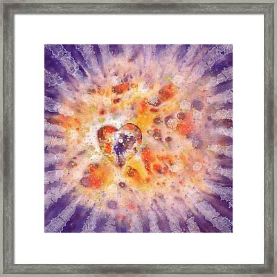 Illumination Framed Print by Lynda Hoffman-Snodgrass