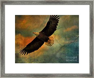 Illumination Of Spirit Framed Print by Deborah Benoit