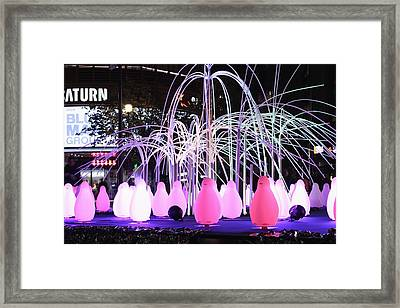 Illumination Framed Print by Reiner Poser