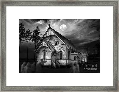 Illumination Framed Print by Sandro Rossi